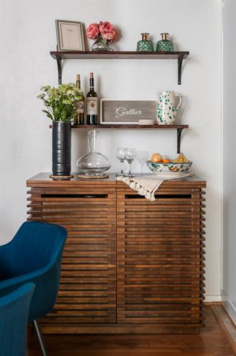 Custom bar nook