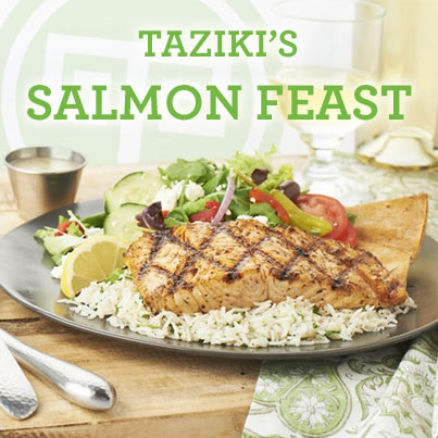 Serving 8 different protein choices. We serve the best Grilled Salmon