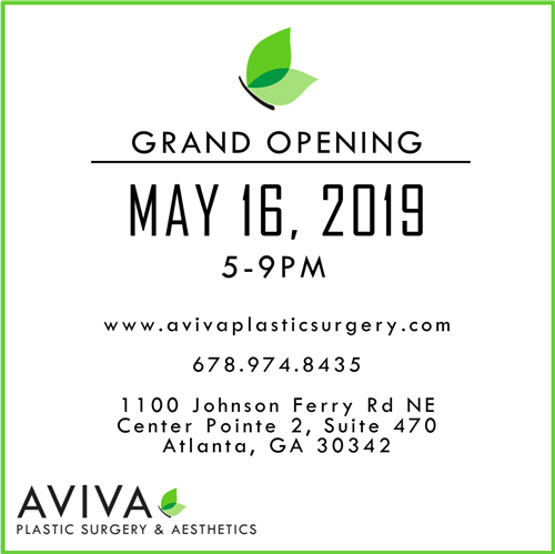 #Spring is here and we would like to invite you to our Spring Open House and Grand Opening celebration! Mark your calendars for May 16, 2019 and help us celebrate Aviva Plastic Surgery & Aesthetics! We will be introducing new treatments and services and raffling off amazing prizes! More details to come.