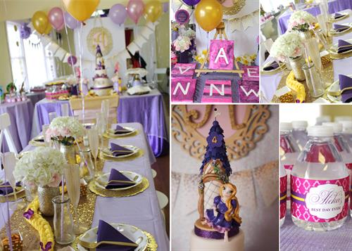 Beautiful Custom Birthday Parties at La De Da