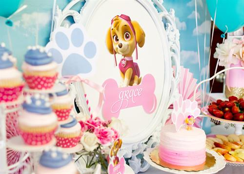 Pretty Paw Patrol Birthday at La Dee Da