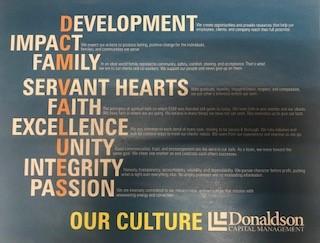 Donaldson Capital Management Culture