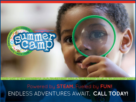 Summer Camp Now Enrolling! for up to 9 years of age