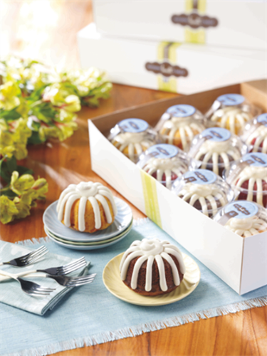 Bundtlets - personal size great for team meetings or to say Thanks a Bundt!