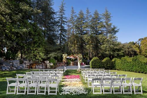 let us host your ceremony on our Gazebo Lawn