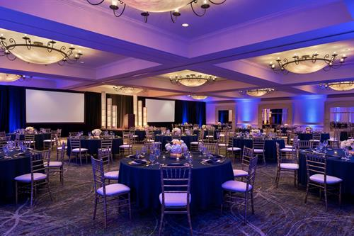 celebrate in our Grand Plaza Ballroom
