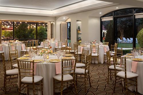 let us host your rehearsal dinner in the Vista Ballroom