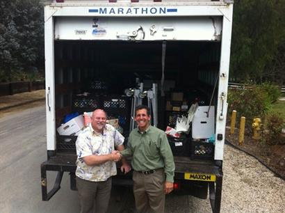 Manna event raised a 1/4 truck of non-perishable food for the shelter.