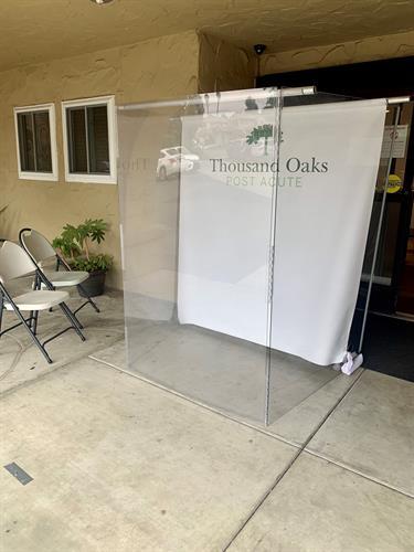 Visitation Booth