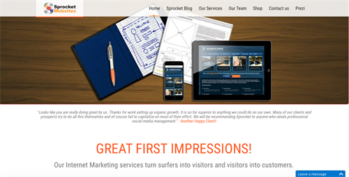 Sprocket Websites is your digital marketing partner.