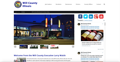 County governments with .Net in-house prefer the DNN website solution.
