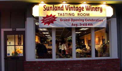 Sunland Vintage Winery Tasting Room