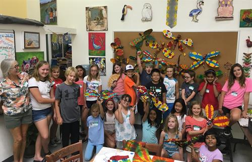 Art Day Camp at the studio
