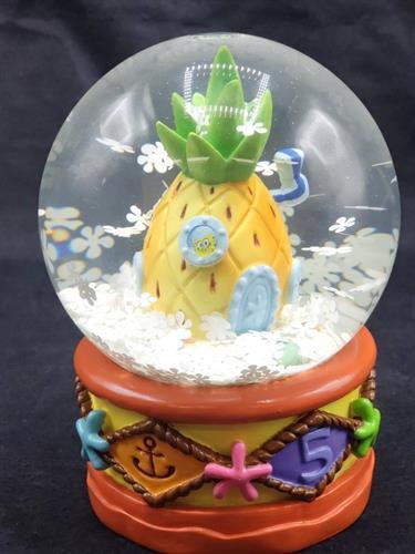 Custom Nickelodeon Snow Globes