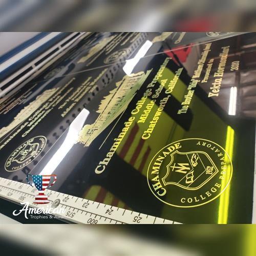 Custom Laser Engraved Plaques