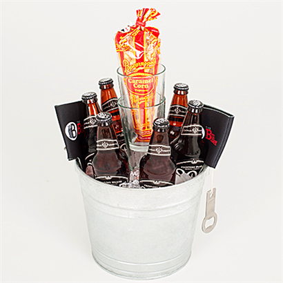 What man doesn't like an ice-cold bucket of beer??