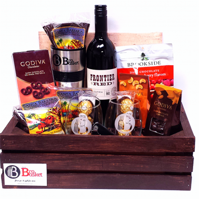 Add your Business Card to any Corporate Gift Crate