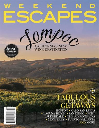 First Issue of Weekend Escapes Fall 2018