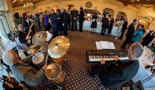 Chris Banta Trio performing at Spanish Hills Country Club Fundraiser