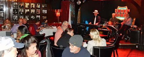 Chris Banta Trio performing at the Smoke House in Burbank