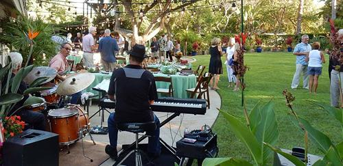 Chris Banta Trio performing at a Private Party