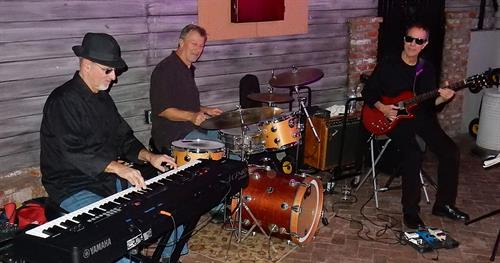 Chris Banta Trio performing at Dominic's Ristorante in Agoura
