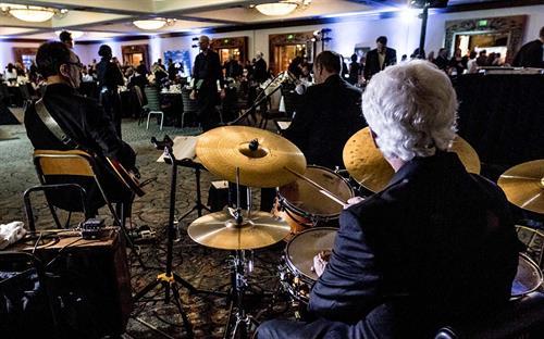 Chris Banta Trio performing at Make-A-Wish Fundraising Event
