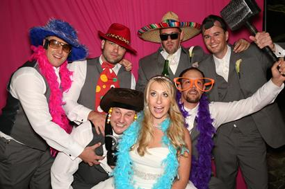 A bride and her guys!