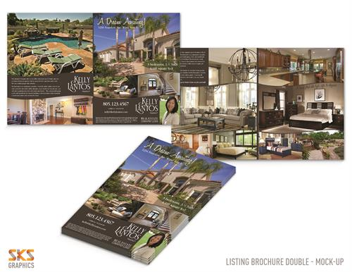 Listing brochures for realtors - CA