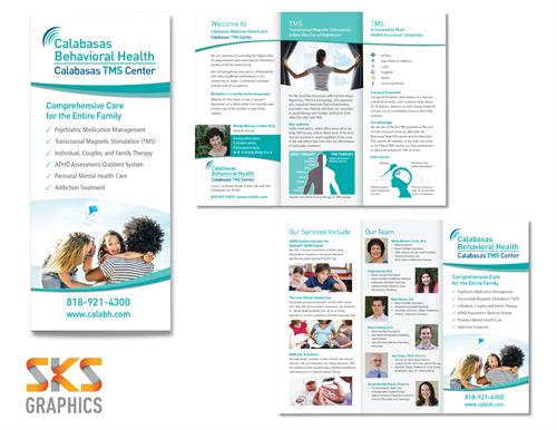 Brochure Design for CBH - CA