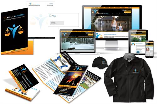 Logo, web design, brochures, ads, business cards & letterhead, apparel, folders  - CT