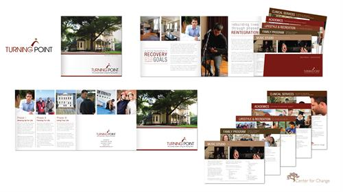 Brochure Design for Turning Point - CT