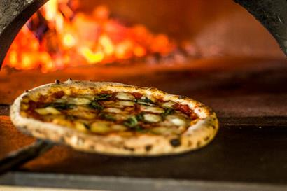 Wood-fired artisanal pizza at Olio Pizzeria® Westlake Village