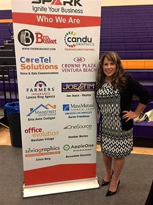 MIXBO Event for the chamber. Spark Network Group - Banner by CANDU Graphics!!
