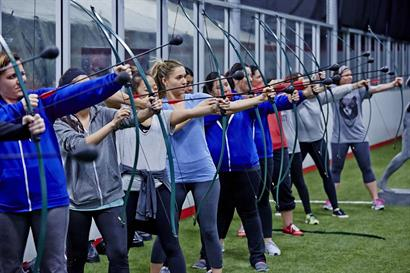 Corporate Team Building with Archery Games