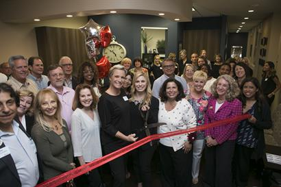 The Chamber of Commerce Ribbon Cutting Ceremony