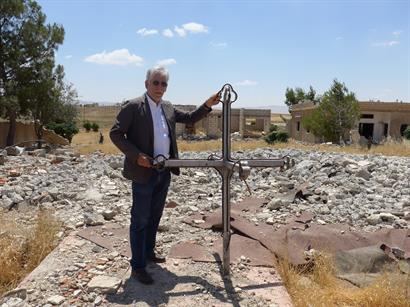 CSI's Dr. John Eibner - aid trip to Middle East -  ISIS destroyed church