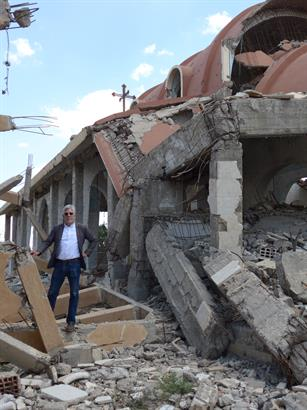 CSI's Dr. John Eibner in ISIS destroyed church