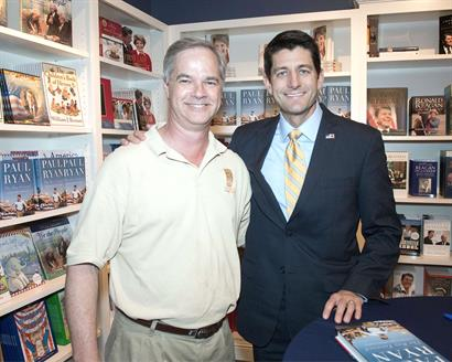 Meeting Paul Ryan at Ronald Reagan Library