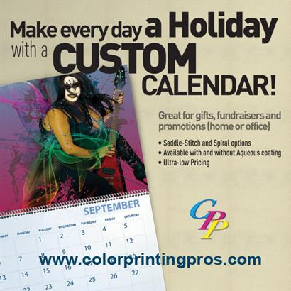 Be Remembered with Custom Calendars