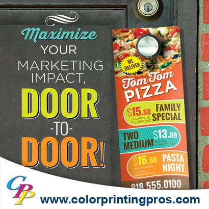 Sell More with Door Hangers