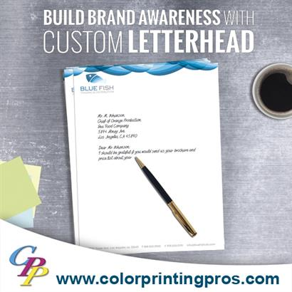 Custom Letterheads Set You Apart