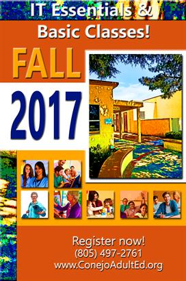 Fall 2017 Poster