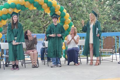 Graduation at the Conejo Creek Park