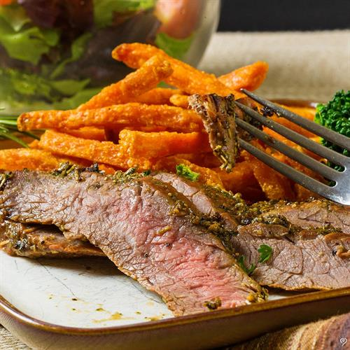 Herb Crusted Flank Steak