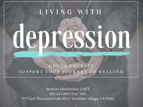 Living With Depression Support Group - This is an open support group for those struggling with depression.