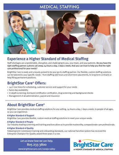 Best in Medical Staffing