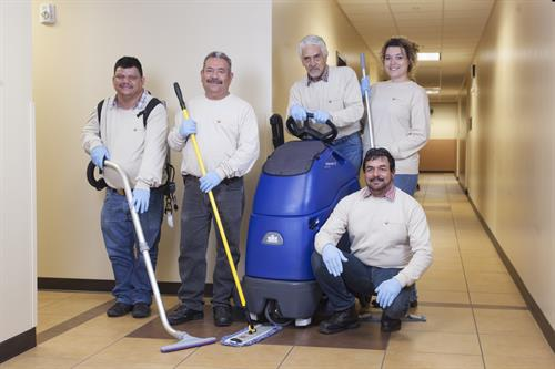 Custodial Services at the Brian A. Terry Border Patrol Station