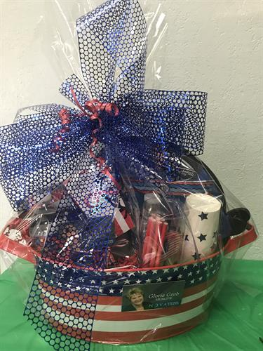 Fourth of July Basket