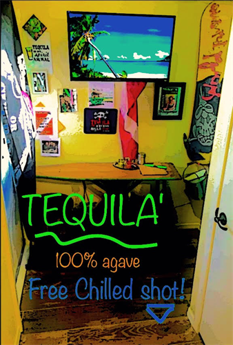 Free best 100% agave 'Chilled Tequila-shot or not (21+)